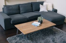 Industrial Coffee Table Diy Pillow Thought Diy Industrial Coffee Table