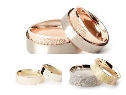 fingerprint wedding band mikimoto pearl necklace fingerprint wedding bandspreston