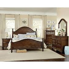 Whiskey Brown Piece King Bedroom Set Heritage RC Willey - Bedroom sets at rc willey