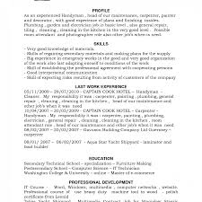 sle construction resume template handyman resume sles construction free sleion technician