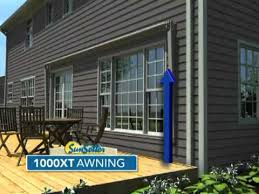 Sunsetter Retractable Awning Prices Sunsetter 900xt Awning Youtube