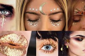 henna eye makeup diy white henna bodypainting look anoukh the sea
