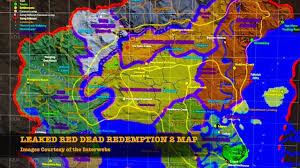 map size comparison dead redemption 2 leaked map size comparison dailymotion