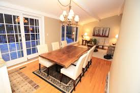 dining room table furniture dining room live edge walnut dining table room furniture bespoke
