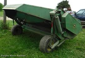 john deere 1209 haybine windrower item db3977 sold june