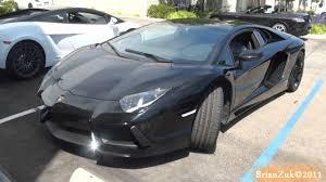 Black Lamborghini Aventador - black lamborghini aventador lp700 4 youtube