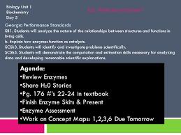 biology unit 1 introduction u0026 methods of science day 1 homework