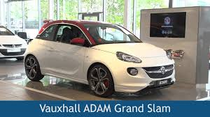 vauxhall adam vauxhall adam grand slam 2015 review youtube