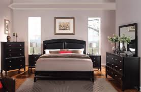 Bedroom Colors For Black Furniture Abram Contemporary Espresso Master Bedroom Set 21394 Bd Bedrooms