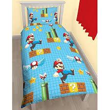 Mario Bros Bed Set Mario Bed Sheets
