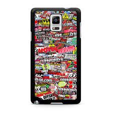 Jdm Sticker Bomb Car Samsung Galaxy Note 4 Case U2013 Minimerch