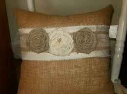 Burlap Decorative Pillows How To Cleaning Burlap Pillows Home Design By John