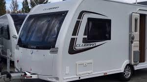 Luxury Caravan by Lunar Clubman Ck 2014 2 Berth Lightweight Touring Caravan For Sale