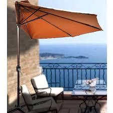Half Umbrella Patio Outdoor Screen Patio Half Umbrella Wall Balcony Sun Shade Garden