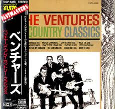 the ventures play the country classics japanese promo cd album
