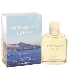 dolce and gabbana light blue men s 2 5 oz dolce gabbana light blue discover vulcano men s perfume 125ml eau