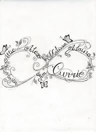 35 family infinity symbol tattoos