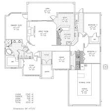 Custom Home Floorplans by Devonshire Ii Custom Home Floor Plan Palm Coast Fl