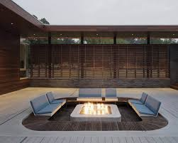 Contemporary Firepit 7 Exles Of Contemporary Firepits To Inspire You Contemporist