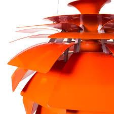 Artichoke Chandelier Chandelier Vintage Reproduction Of The Poul Henningsen Orange