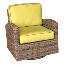 Wicker Glider Patio Furniture - bainbridge wicker swivel glider club chair