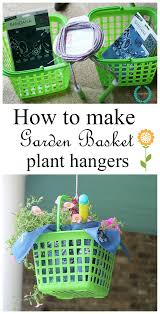 Porch Hangers by A Tisket A Tasket How About A Garden Basket Debbiedoos