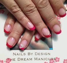 natural color nail tips images