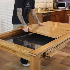 game table building plans wood whisperer guild diy game table