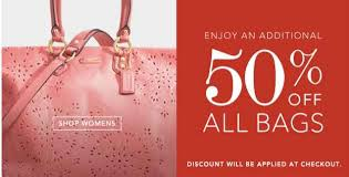 additional 50 all coach factory store purchases