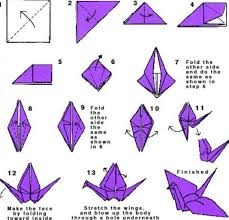 Step By Step Origami For - how to do origami bird step by step step step step oragomi how to