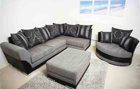 Calico Corners Sofas Brand New Modern Vermont Corner U0026 Swivel Cuddle Chair Sofa Set