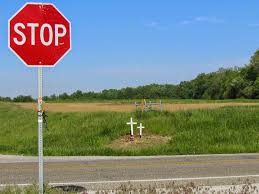 roadside crosses for sale a grave interest cross by the side of the road