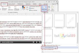 cara membuat tulisan watermark di excel cara mudah membuat watermark all page di word video tutorial89