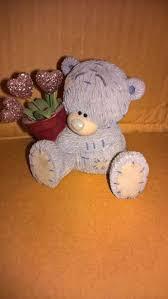 me to you me to you golf tatty teddy figurine 11cm