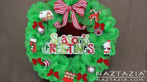 geo mesh diy learn how to make deco geo mesh poly christmas wreath