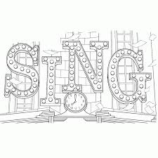 top 10 sing movie coloring pages sing movie movie and free