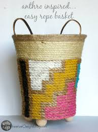 day 8 diy anthro inspired basket twelveoeight