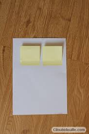 comment mettre des post it sur le bureau windows 7 fabriquer un post it ciloubidouille