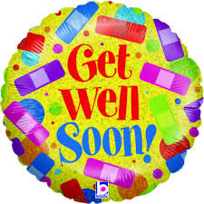 get well soon and balloons get well soon balloon amanda janes hemel hempstead