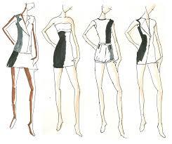 design fashion dress sketches lstore