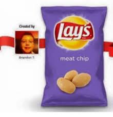 Lays Chips Meme - greated by brandon t lays meat chip lay s meme on sizzle