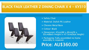 Modern Dining Chairs Australia Top Ten Modern Dining Chairs In Australia