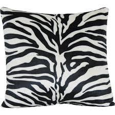 Zebra Home Decor by Zebra Print Decorative Pillow Walmart Com