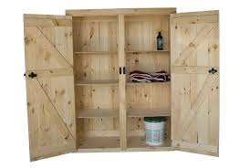 wooden storage cabinet with doors and shelves home design ideas