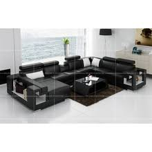 Leather U Shaped Sofa Product Germany Style Sectional Modern Leather Bed Modern