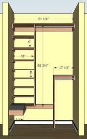 Closet Designs Ideas Diy Small Closet Organizer Plans Diy Pinterest Small Closets