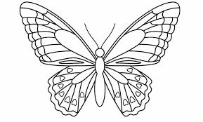 butterfly template butterflies template printable best photos of