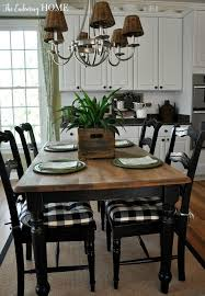 Best  Kitchen Tables Ideas On Pinterest Diy Dinning Room - Kitchen table decorations