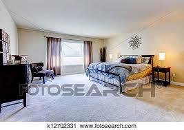 moquette chambre à coucher banques de photographies grand chambre à coucher à beige