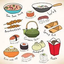 food vector asian food vector collection u2014 stock vector sunsinger 54420515